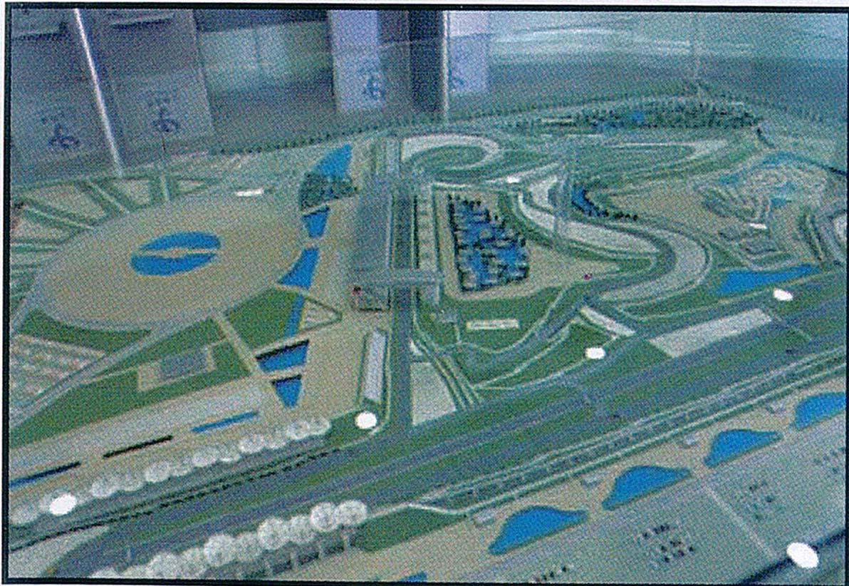 上海F1国际赛道工程