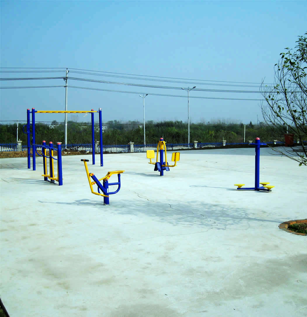 员工室外健身场